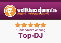 Top-DJ laut Weltklassejungs.de!